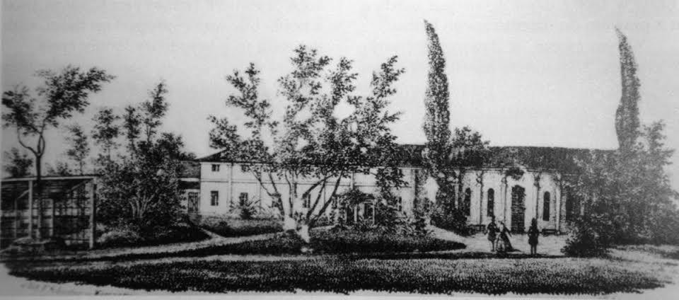 Franciszek Szuster Promenada naMokotowie litografia Tygodnik ilustrowany 1896