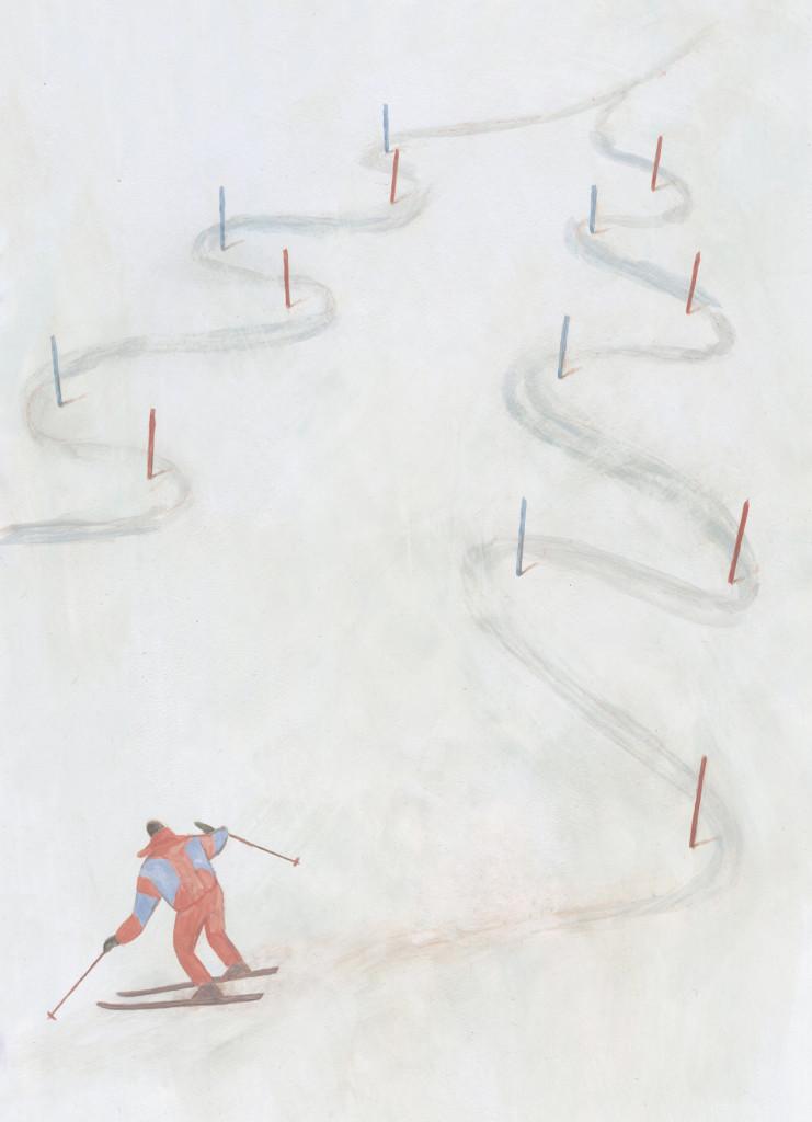 świąteczny slalom MR