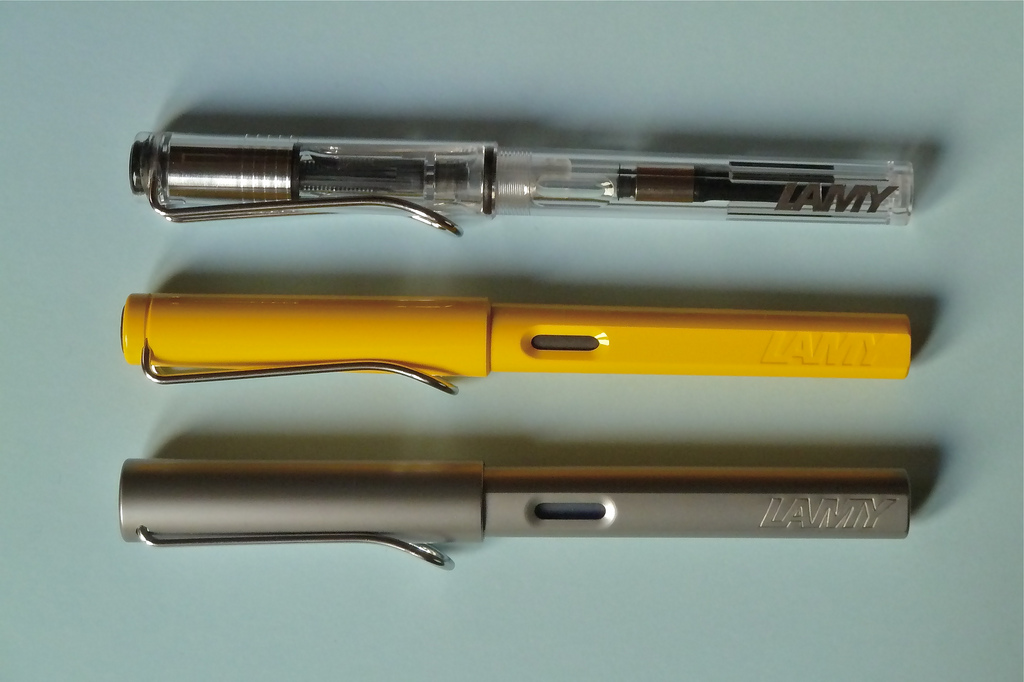 Lamy_Vista,_Lamy_Safari_and_Lamy_AL-star