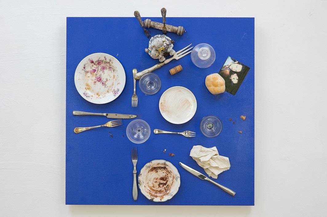 Tisch aus dem Bistro der Heiligen Marta