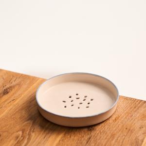 Ceramiczna mydelniczka (biała)